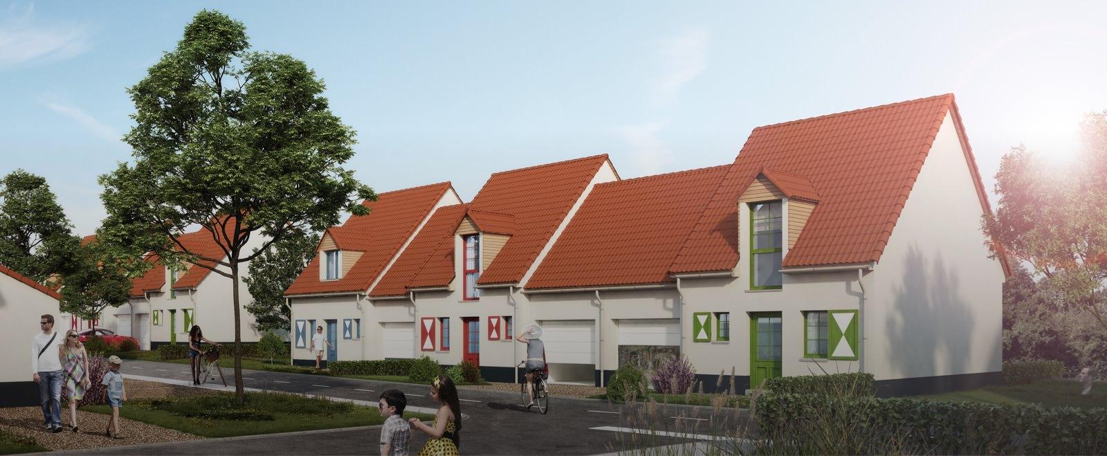 Maison neuve wissant r sidence l 39 envol e sigla neuf for Achat logement neuf