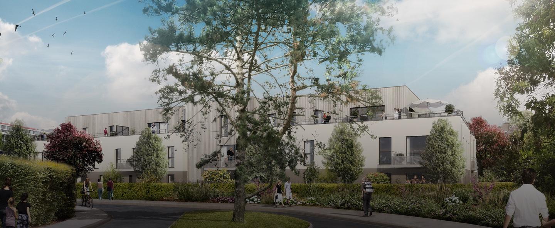 Les terrasses achat logement neuf croix barbieux sigla neuf for Logement neuf achat