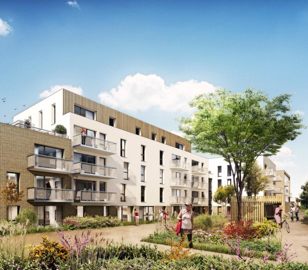 Wood appartement neuf wasquehal sigla neuf for Achat logement neuf