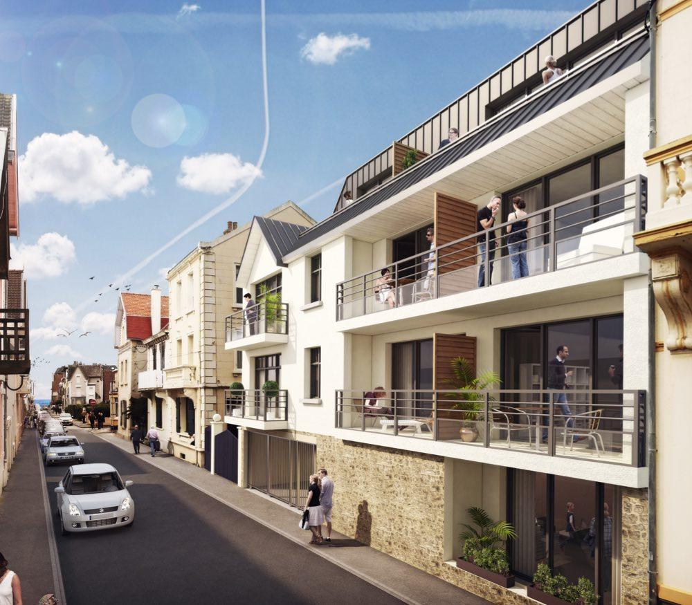 Appartement neuf c te d 39 opale sigla neuf promoteur for Achat maison wimereux