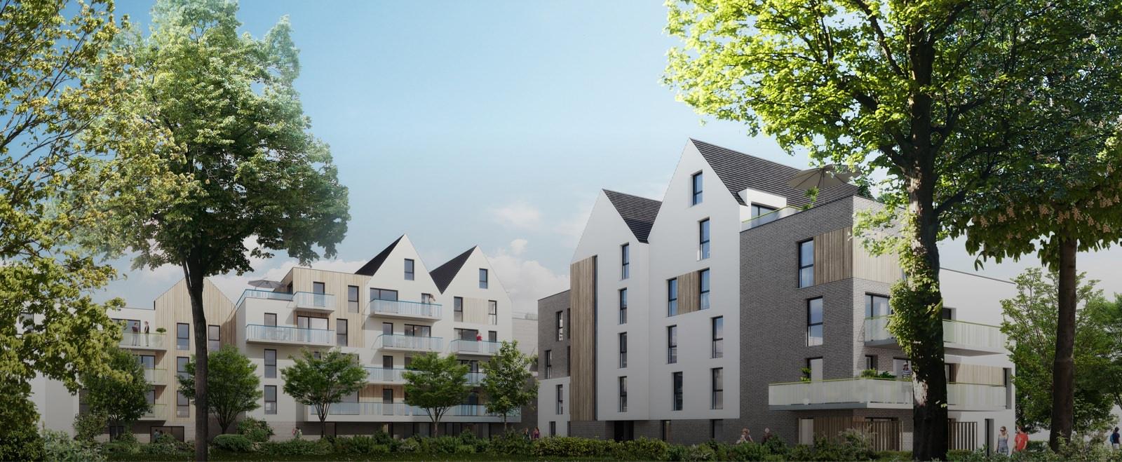 Appartement neuf wimereux carr lafontaine sigla neuf for Achat maison wimereux