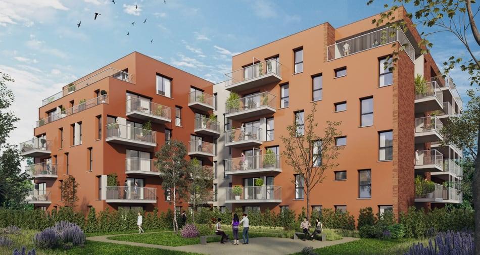 Hellemmes : une résidence neuve à deux pas de l'hyper centre de Lille