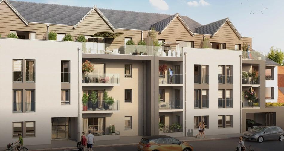 L'Estran : un appartement neuf à Berck entre terre et mer